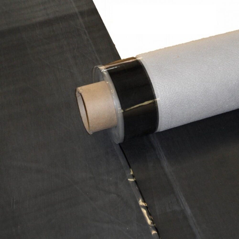 DuoPly™, EPDM Fleece Reinforced Rubber Roofing Membrane for Flat Roofs