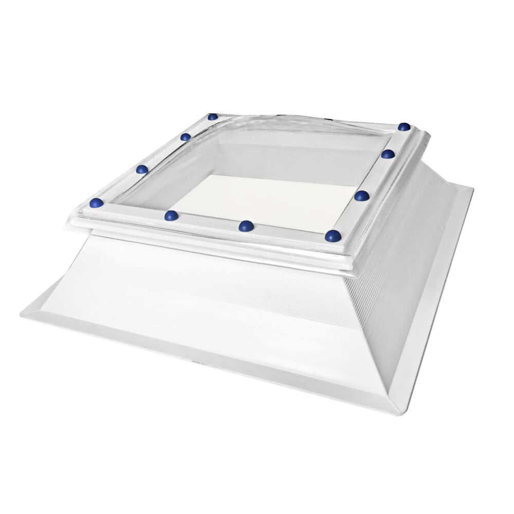 FIXED POLYCARBONATE ROOFLIGHT DOME AND KERB
