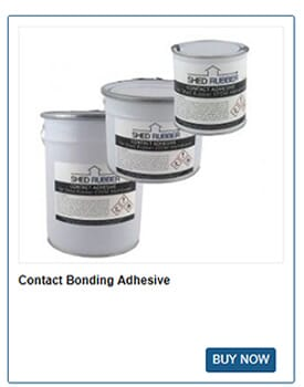 Shed Rubber contact bonding adhesive