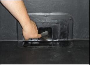 apply epdm patch over epdm membrane