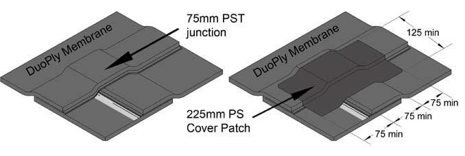 PST junction and cover patch