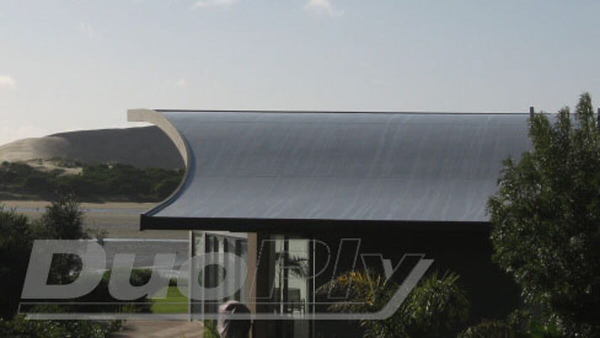 Duoply EPDM rubber roofing membrane