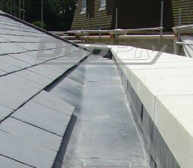duoply epdm roof gutter lining